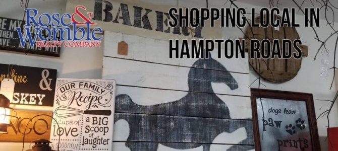 Shopping Local in Hampton Roads A to Z