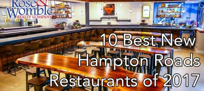 10 Best New Hampton Roads Restaurants of 2017